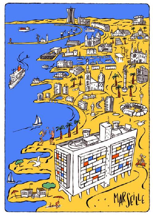 Affiche Doro - Unité d'habitation