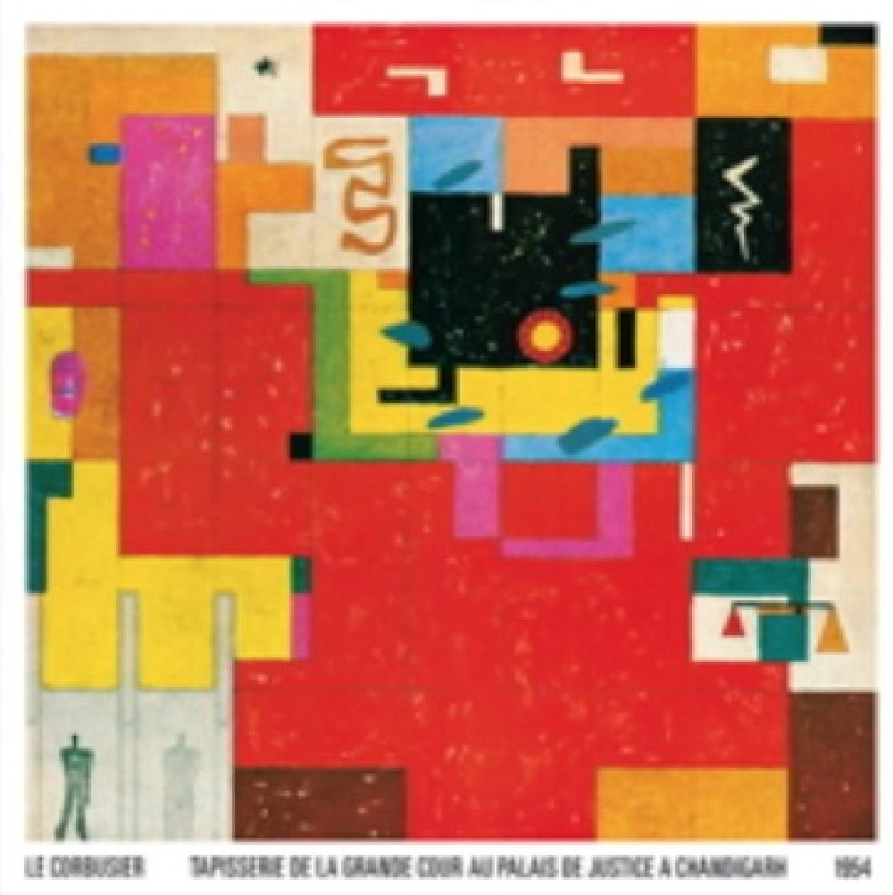 Magnet Le Corbusier - Tapisserie Chandigarh