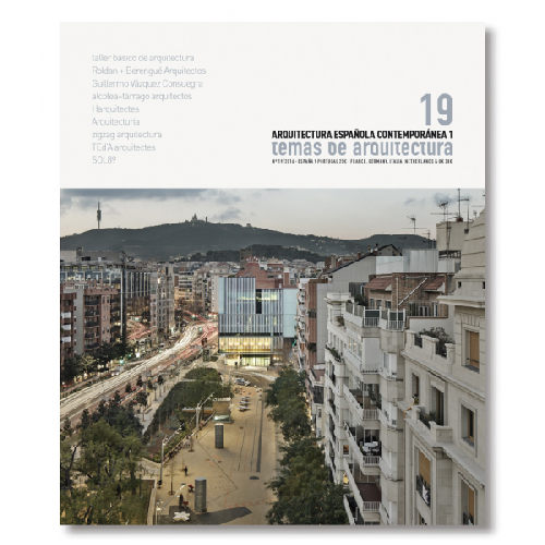 TA 19 Arquitectura Contemporánea Española