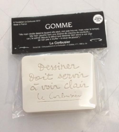Gomme Le Corbusier